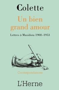Openwetlab.it Un bien grand amour - Lettres à Musidora 1908-1953 Image