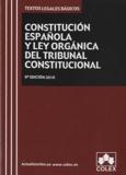 Colex - Constitucion española y ley organica del tribunal constitucional.