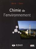 Colin Baird et Michael Cann - Chimie de l'environnement.