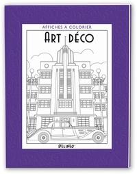 Colin Elgie - Art déco - Affiches à colorier.