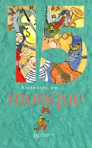 Collectif - 15 histoires en musique....