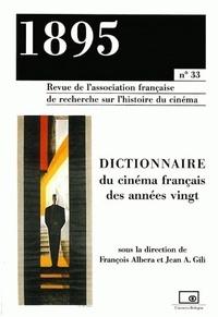 1895 N° 33 Juin 2001 : Dictionnaire du cinéma français des années vingt.pdf