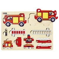 Collectif - 1ère maquette-Camion pompier.