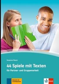 Collectif - 44 Spiele mit Texten.