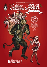 COLLECTIF 619 - Cahier de vacances de Noël - Pour adlutes geeks et déviants.