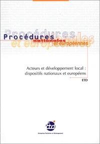 Acteurs et développement local : dispositifs nationaux et européens.pdf
