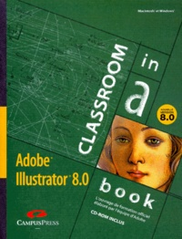 Deedr.fr ADOBE ILLUSTRATOR 8.0. Nouvelle version, Avec un CD-Rom Image