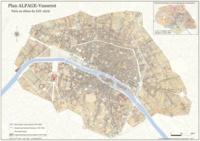 Corridashivernales.be Le Plan Alpage Vasserot - Paris au début du XIXe siècle. Format A2 Image