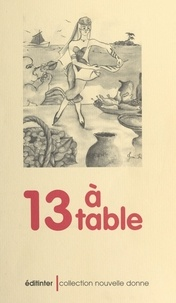 Collectif Angevin de Recherche - 13 à table - Nouvelles.