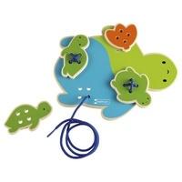 Collectif - Animaux à lacer - La tortue.