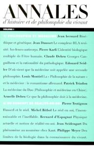 ANNALES DHISTOIRE ET DE PHILOSOPHIE DU VIVANT. Volume 1.pdf