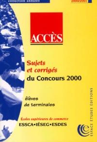 Annales de la banque dépreuves écrites ACCES 2000.pdf