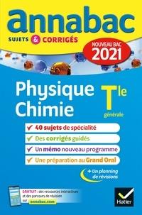 Collectif - Annales du bac Annabac 2021 Physique-Chimie Tle générale (spécialité) - sujets & corrigés nouveau bac.