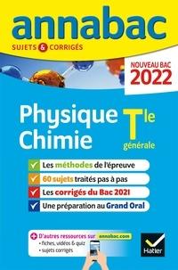 Collectif - Annales du bac Annabac 2022 Physique-Chimie Tle générale (spécialité) - méthodes & sujets corrigés nouveau bac.