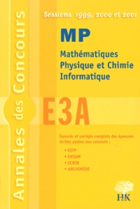 Satt2018.fr Annales E3A MP 1999, 2000, 2001 Image