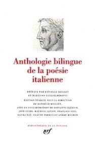 Anthologie bilingue de la poésie italienne