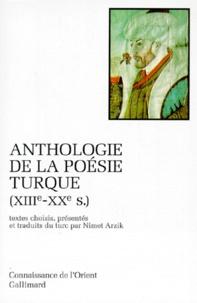 Feriasdhiver.fr Anthologie de la poésie turque XVIIIème-XXème siècles Image