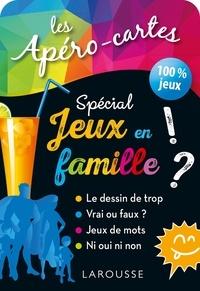 Collectif - Apéro-cartes spécial JEUX en FAMILLE.