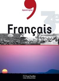 Collectif - Apostrophe - Français 3e HLI Elève.