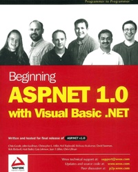 Ucareoutplacement.be Beginning ASP.NET 1.0 with VB .NET Image