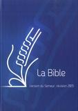 Collectif - Bible semeur couverture rigide bleu.