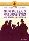 Collectif et Gertrude Bing - Bibliolycée - Nouvelles naturalistes des Soirées de Médan, Zola, Maupassant, Huysmans.