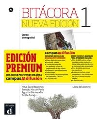 Collectif - Bitacora 1 (nouvelle edition) - livre de l'eleve + mp3 telechargeable premium.