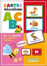 Collectif - Boîtes éducatives Alphabet - 26 cartes géantes pour apprendre l'alphabet.