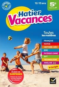 Collectif - Cahier de vacances 2021 de la 5e vers la 4e - pour réviser son année dans toutes les matières.
