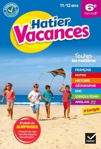 Collectif - Cahier de vacances 2021 de la 6e vers la 5e - pour réviser son année dans toutes les matières.