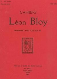 Collectif - Cahiers Léon Bloy, Nouvelle série n°1, 1989-1990.