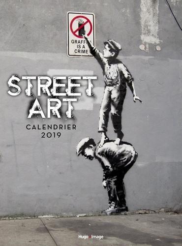 Collectif - Calendrier mural Street Art.