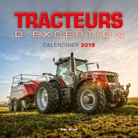 Collectif - Calendrier mural tracteurs.