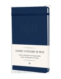 Collectif - Carnet intemporel bleu (vente ferme).