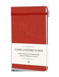 Collectif - Carnet intemporel rouge (vente ferme).