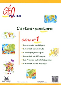 Galabria.be Cartes Géo-poster. - Série N° 1 Image
