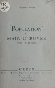 Collectif CERES et  Croisier - Population et main-d'œuvre dans les départements du Nord et du Pas-de-Calais.