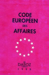 CODE EUROPEEN DES AFFAIRES. 1ère édition 1995.pdf