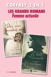 Collectif - Coffret grand romans Femme Actuelle : La table d'émeraude, Des vies derrière soi.
