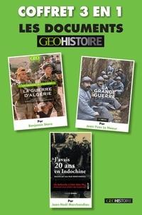 Collectif - Coffret histoire : La grande guerre, La guerre d'Algérie, J'avais 20 ans en Indochine.