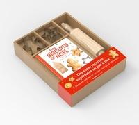 Collectif - Coffret Mes super biscuits de Noël - Avec 3 emporte-pièces et un vrai rouleau à pâtisserie.