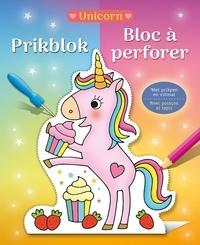Collectif Collectif - Bloc à perforer Unicorn.