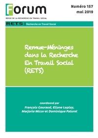 Magasin de livres électroniques Kindle: Forum 157 : Remue-Méninges dans la Recherche En Travail Social (RETS) 9791034605392  par Collectif Collectif