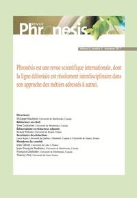 Collectif Collectif - Phronesis. Vol. 6, numéro 3 | 2017.
