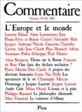 Collectif - Commentaire N° 94 Eté 2001 : L'Europe et le monde.