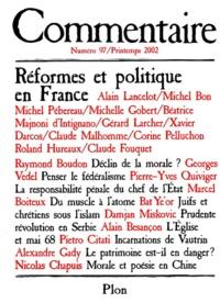 Collectif - Commentaire N° 97 Printemps 2002 : Réformes et politique en France.