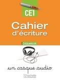Collectif - Coquelicot cahier écriture CE1.