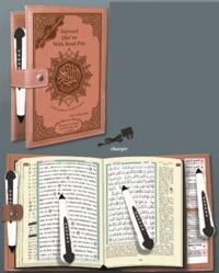 Collectif - Coran tajweed avec traduction des sens et translittération turc avec stylo lecteur 8g.