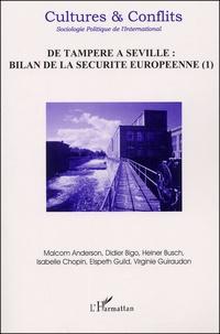 Galabria.be Cultures & Conflits N° 45 Printemps 2002 : De Tampere à Séville : bilan de la sécurité européenne. Tome 1 Image