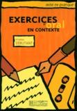Collectif d'auteurs - Exercices d'oral en contexte - Niveau débutant.